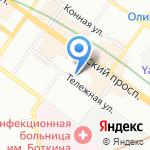 Proof Space на карте Санкт-Петербурга