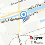 Webering на карте Санкт-Петербурга