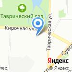 Флёр на карте Санкт-Петербурга