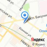 Равенство-СПб на карте Санкт-Петербурга