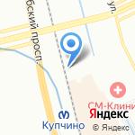 Магазин товаров для дачи на карте Санкт-Петербурга