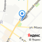 Правовая Лига на карте Санкт-Петербурга