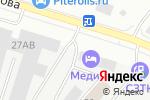 Схема проезда до компании Инструмент в Санкт-Петербурге