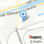 АСТА-тест на карте Санкт-Петербурга