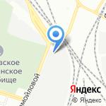 Крепёжка на карте Санкт-Петербурга