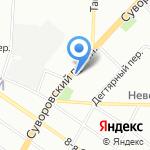 БутОн на карте Санкт-Петербурга
