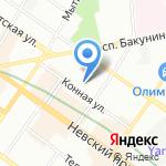 Академия эстетической медицины на карте Санкт-Петербурга