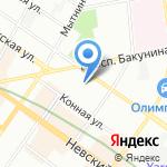 Питомник собак Чи-Хуа-Хуа на карте Санкт-Петербурга