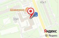 Схема проезда до компании Алюмик в Санкт-Петербурге