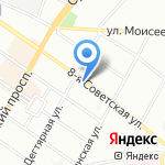Сколот на карте Санкт-Петербурга