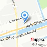Скудельник на карте Санкт-Петербурга