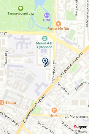 ТФ СВЕТЛАНА ПЛЮС на карте Санкт-Петербурга