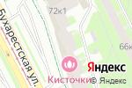 Схема проезда до компании Принцип в Санкт-Петербурге