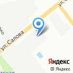 Автотехобслуживание на карте Санкт-Петербурга