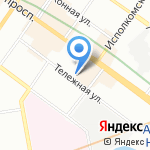 Жемчуг на карте Санкт-Петербурга