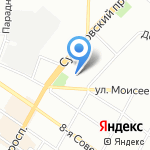 ИрониЯ на карте Санкт-Петербурга