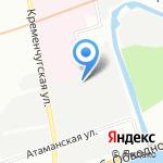 Адель на карте Санкт-Петербурга
