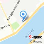 ДИССОТ на карте Санкт-Петербурга