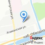 Нефтегазовые трубные системы на карте Санкт-Петербурга