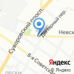 Северо-Западный центр доказательной медицины на карте Санкт-Петербурга