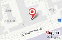 Схема проезда до компании Максаэро в Санкт-Петербурге