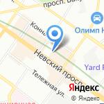 Ricco e bello на карте Санкт-Петербурга