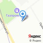 Санкт-Петербургский гуманитарный университет профсоюзов на карте Санкт-Петербурга