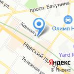 Нотариальная палата г. Санкт-Петербурга на карте Санкт-Петербурга