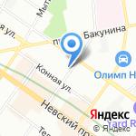 MADYKO на карте Санкт-Петербурга