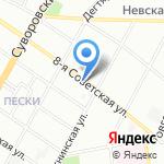 Авторское ателье Юлии Скрыпник на карте Санкт-Петербурга