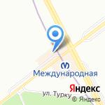 Ле`Муррр на карте Санкт-Петербурга