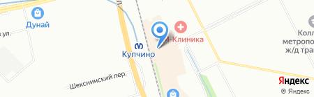 Lavatime на карте Санкт-Петербурга