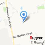 Мишутка на карте Санкт-Петербурга