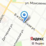 Блеск-Н на карте Санкт-Петербурга