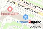 Схема проезда до компании Техноком в Санкт-Петербурге