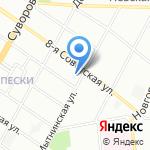 Проект Инвест Строй на карте Санкт-Петербурга