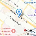 Объединенная финансово-промышленная корпорация на карте Санкт-Петербурга