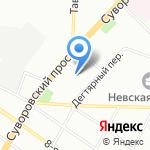 Представительство Республики Дагестан в г. Санкт-Петербурге на карте Санкт-Петербурга