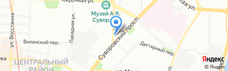 La Maree на карте Санкт-Петербурга
