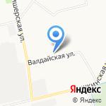 Шушары на карте Санкт-Петербурга