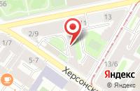 Схема проезда до компании И-Мидж в Санкт-Петербурге