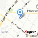 Мистер Булка на карте Санкт-Петербурга