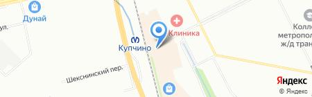Gold Luxe на карте Санкт-Петербурга