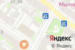 Схема проезда до компании Мила+ в Санкт-Петербурге
