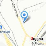 Молодой ударник на карте Санкт-Петербурга