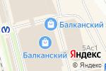 Схема проезда до компании Banoff в Санкт-Петербурге