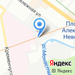 Dreamrider на карте Санкт-Петербурга