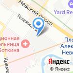 КлишеСтар на карте Санкт-Петербурга