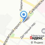 Renome на карте Санкт-Петербурга