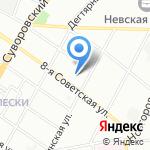 Галина на карте Санкт-Петербурга
